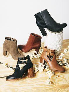 """""""Maximum"""" and """"Make Believe"""" booties - Seychelles Footwear"""