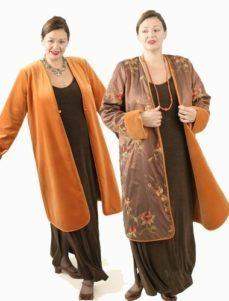 Plus Size Reversible