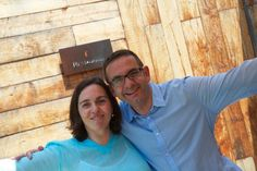 You'd be happy too if you just had lunch at El Celler de Can Roca