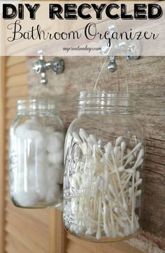 DIY Recycled Bathroo