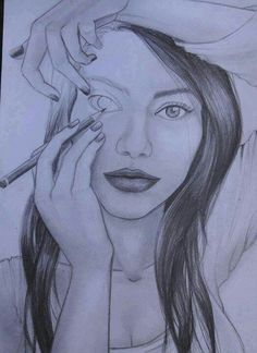Whoa sketch, self image, self portraits, draw something, thought, the artist, pencil drawings, pencil art, eyes