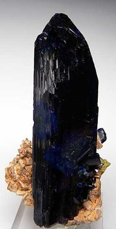 Azurite - Touissit, Touissit District, Oujda-Angad Province, Oriental Region, Morocco
