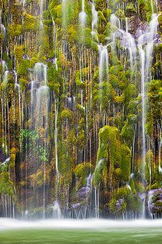 Part of a Whole, Mossbrae Falls, Dunsmuir, California
