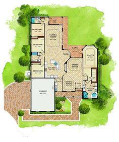 Lennar Homes SWFL - Cypress floor plan - Arlington Oaks Fort Myers FL