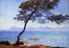 Antibes by Claude Monet, 1888 #art #painting #Impressionism #Claude #Monet #Antibes