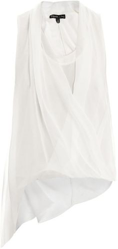 ELIZABETH & JAMES Jillian Silk Top - Lyst