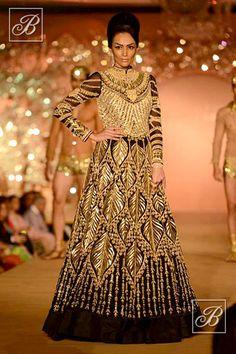 Abu Jani Sandeep Khosla black and golden creation