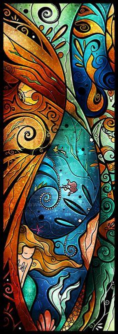 Fathoms Below by mandiemanzano.deviantart.com on @deviantART