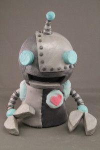 "Beboop - ""hot"" foam latex Puppet by Katherine Theriault"