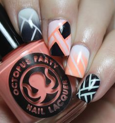 Bleached Neons and Tape | Pretty Girl Science