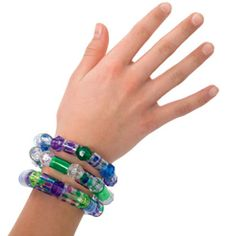 plastic bead bracelets made from water bottle plastic