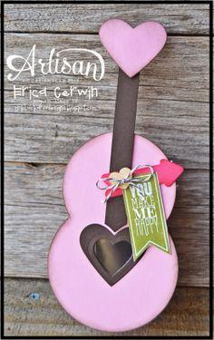 Artisan Wednesday Wow- Valentine Guitar Sweet treats for that music lover! http://pinkbuckaroodesigns.blogspot.com/2014/01/aww-jan-4.html
