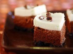 Mini Mint Chocolate Cheesecakes #RecipeOfTheDay