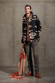 from pendleton's 2012 fall/winter portland collection.   great jacket.