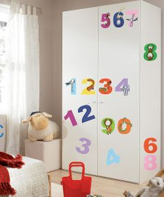 Numbers Wall Decals.