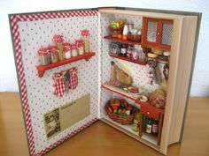 shadow box dollhouse, room box miniatures, miniature room boxes, miniature shadow box, dollhouse book