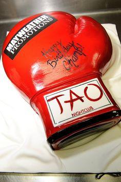 Boxing Champion birthday cake