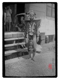 Dayak, Indonesia around 1920's   #tribal #indonesia