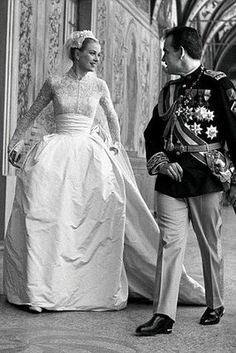 Grace Kelly & her prince