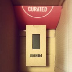 Happy mailing from Curated.
