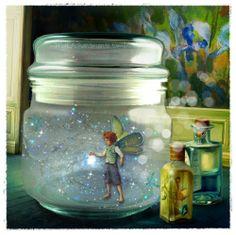 A new captured fairy...digital art.
