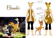 Costume Bambi by fuzzybearears on deviantART