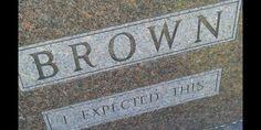 Humorous headstone (via Imgur)