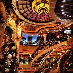 Who says a cruise to the Caribbean can't also be a winter wonderland?