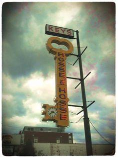Locksmith Sign, East Nashville: Retroluxe Great Company still in business #locksmith