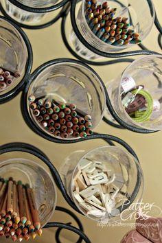 wines, galleries, wine racks, idea, art crafts, pea, craft supplies, craft room, rack storag