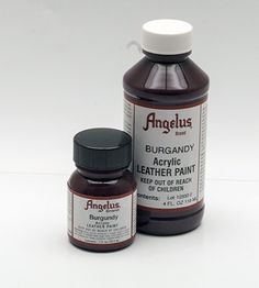 Angelus Burgundy Paint - for painting leather