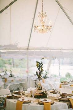 Rustic Tented Wedding