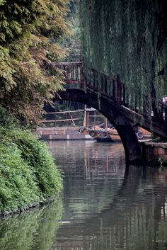 Wuzhen village bridge