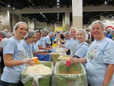 Sales Team Volunteer Efforts Supporting Kids Against Hunger