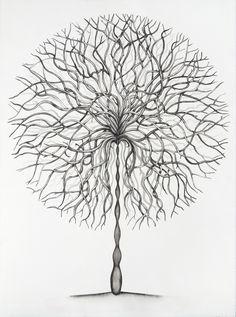 circles, drawings, ric heitzman, art, david wright, trees, person account, heitzman titl, deaf