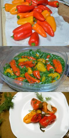 Easiest but so delicious marinated mini bell peppers