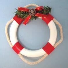holidaydecor, nautical christmas, diy nautic, christmas decorations, favorit holiday, nautic christma, christma ornament, christmas ornaments, holiday decor