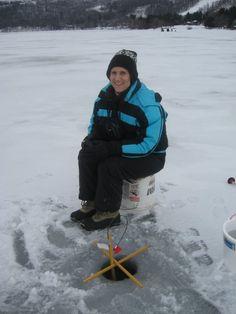 ice fishing :)