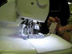 Shreveport Sewing Center, LA - Serger Bias Binding Tutorial