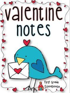 Free - Valentine Notes
