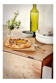 Butternut Squash + Pomegranate Galette  Sunday Suppers