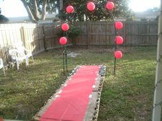 Make your own Runway! We used old wooden pallets and plywood!