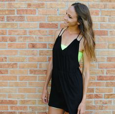 DIY Strappy Summer Dress From Tshirt