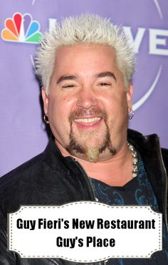 Guy Fieri's new book and new restaurant