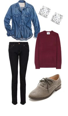 """""""Casual Winter Outfit"""" by madison-mason on Polyvore"""