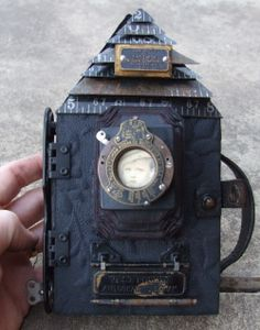 Jen Crossley house camera book  opens up to show a book