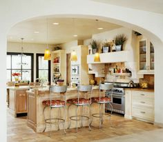Country Neutral Kitchen