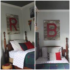 Barn Board Letters