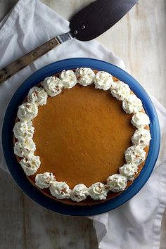 Creamy Greek Yogurt Pumpkin Pie Cheesecake