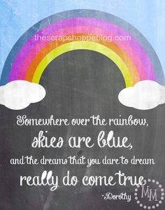 The Scrap Shoppe: Wizard of Oz Quote Chalkboard Printable